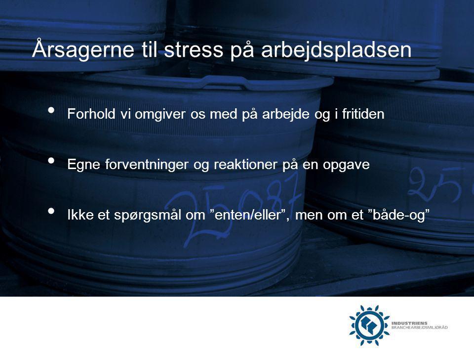 Årsagerne til stress på arbejdspladsen