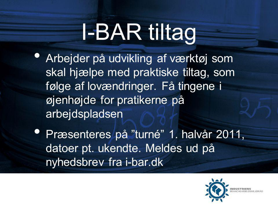 I-BAR tiltag