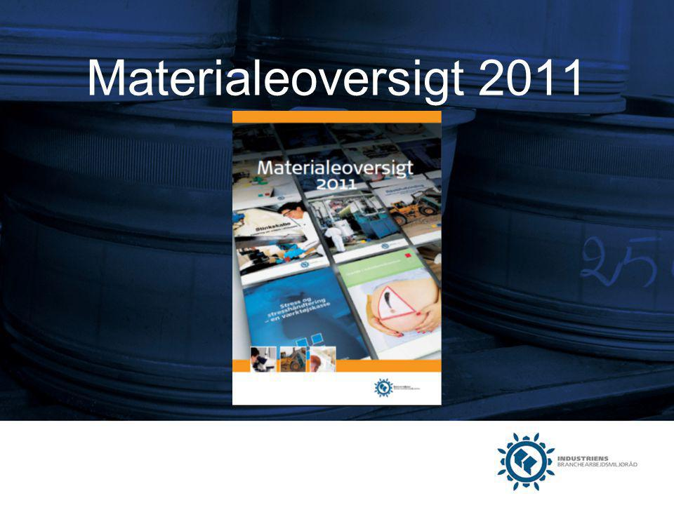 Materialeoversigt 2011