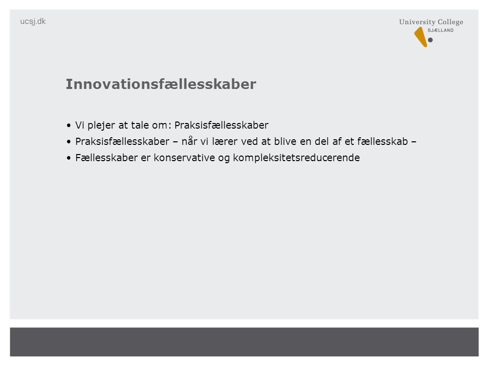 Innovationsfællesskaber