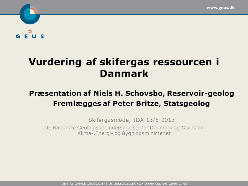 Vurdering af skifergas ressourcen i Danmark