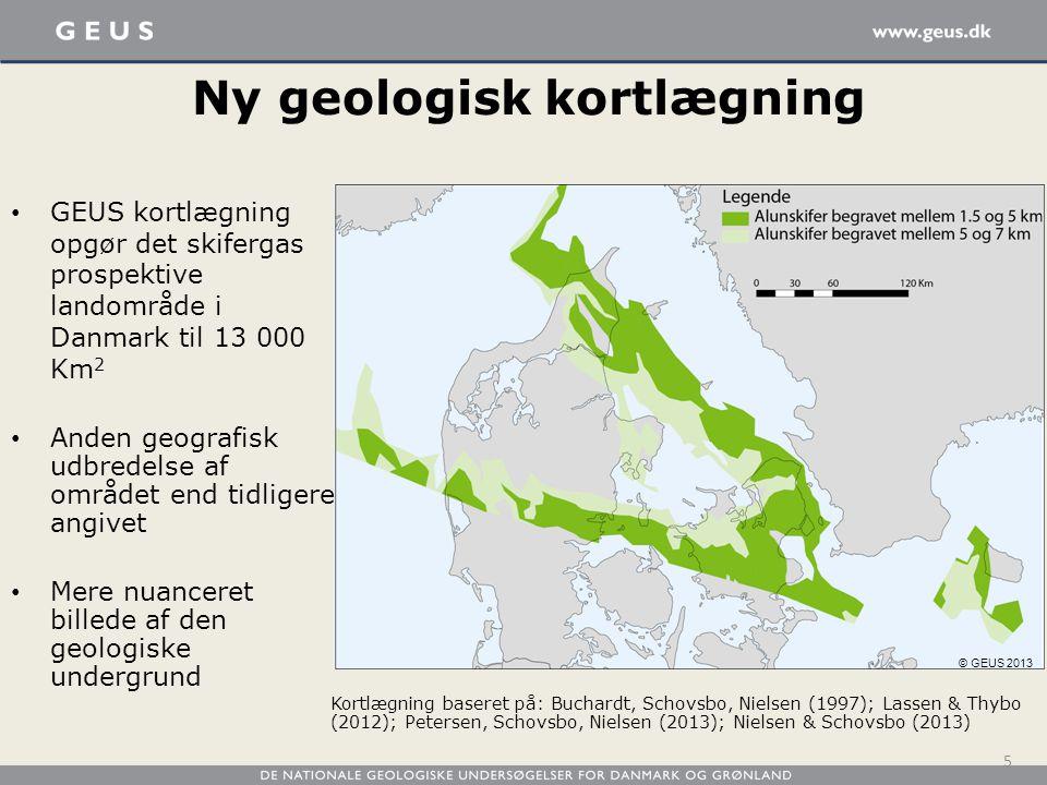 Ny geologisk kortlægning