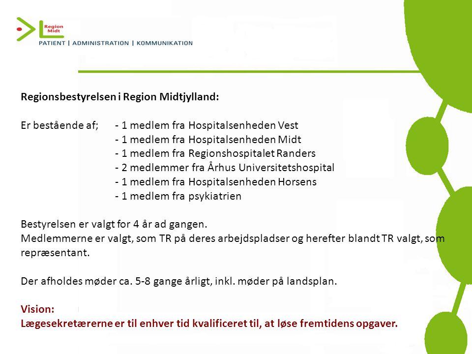 Regionsbestyrelsen i Region Midtjylland: