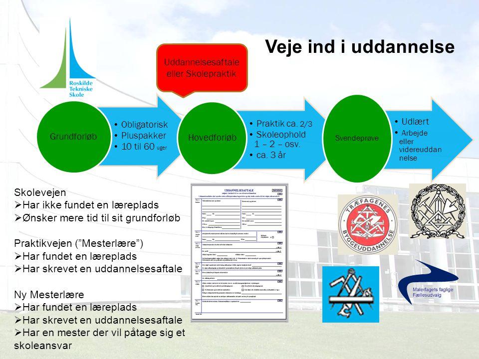 Uddannelsesaftale eller Skolepraktik
