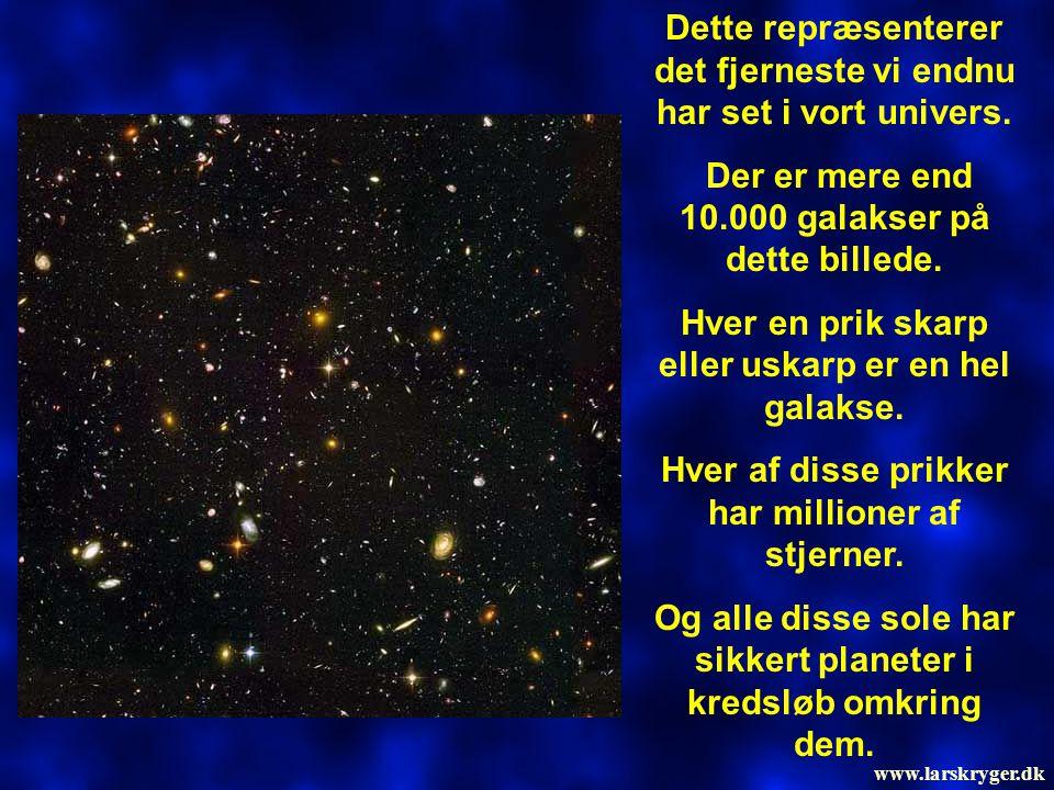 Dette repræsenterer det fjerneste vi endnu har set i vort univers.