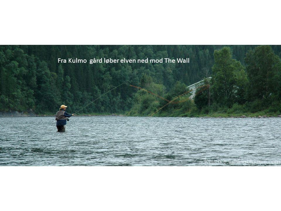 Fra Kulmo gård løber elven ned mod The Wall