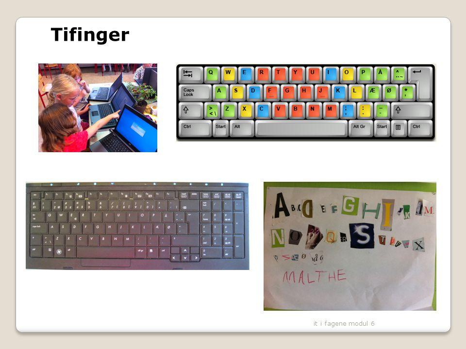 Tifinger it i fagene modul 6