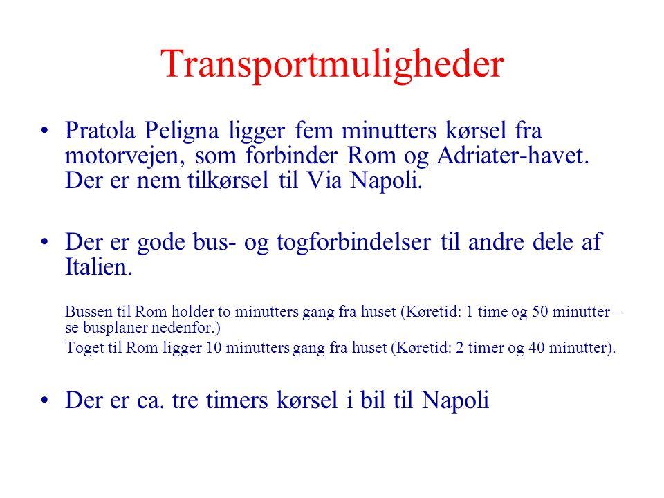 Transportmuligheder