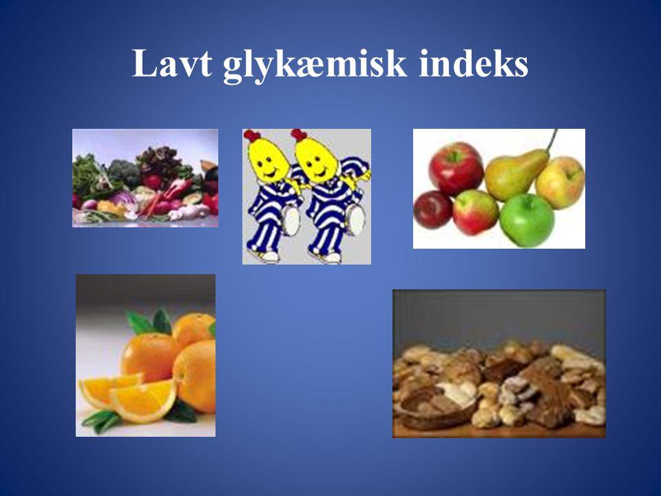 Lavt glykæmisk indeks