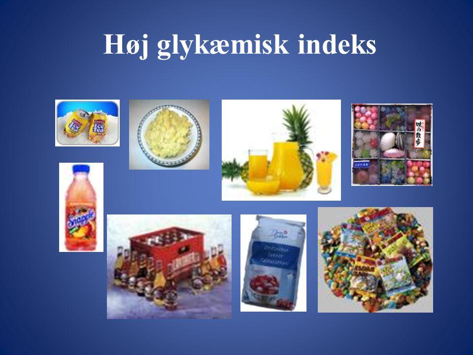 Høj glykæmisk indeks