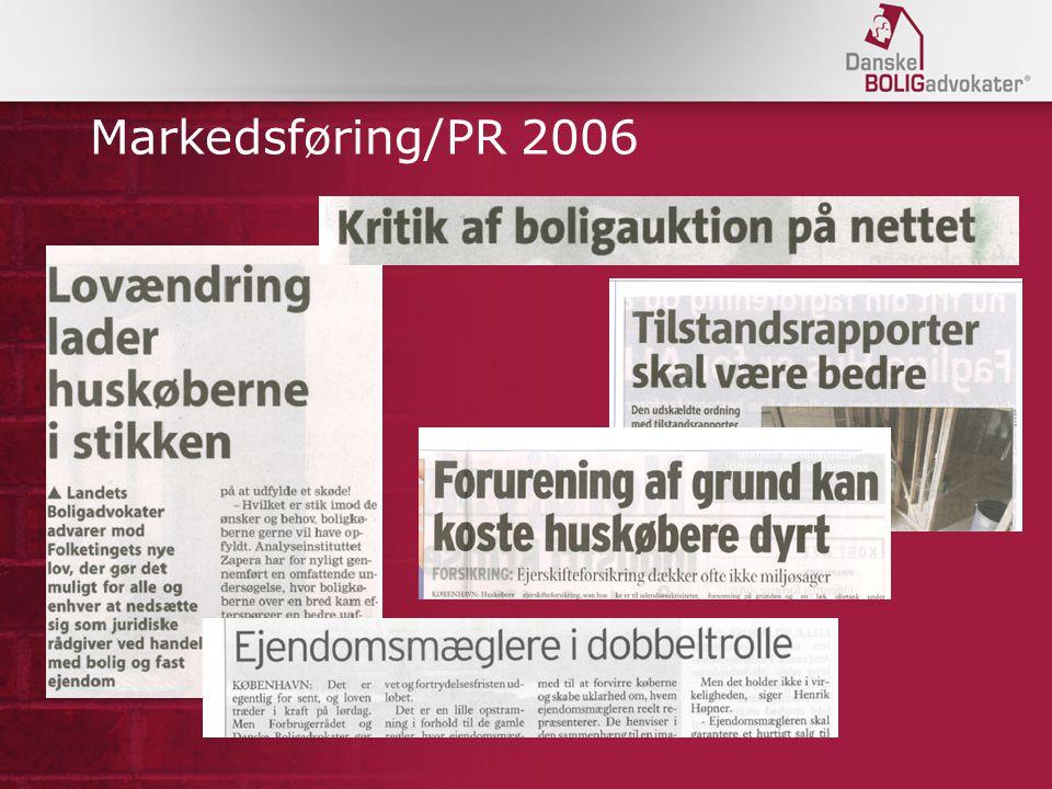 Markedsføring/PR 2006