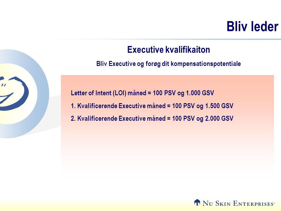 Bliv leder Executive kvalifikaiton