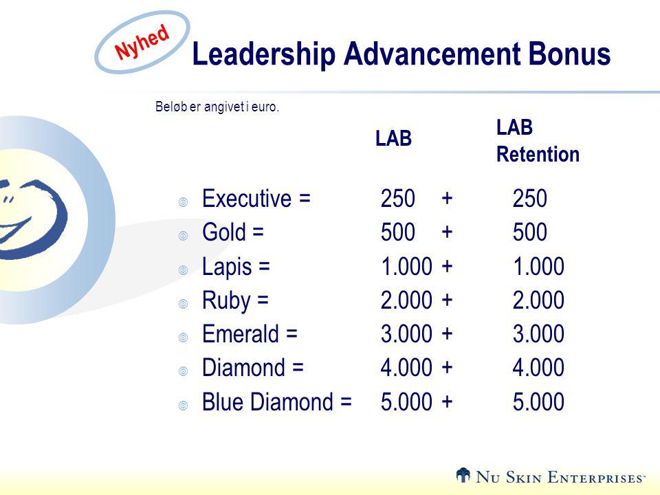 Leadership Advancement Bonus