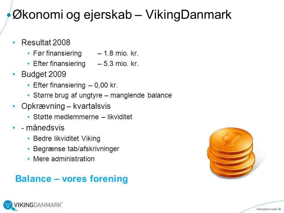 Økonomi og ejerskab – VikingDanmark