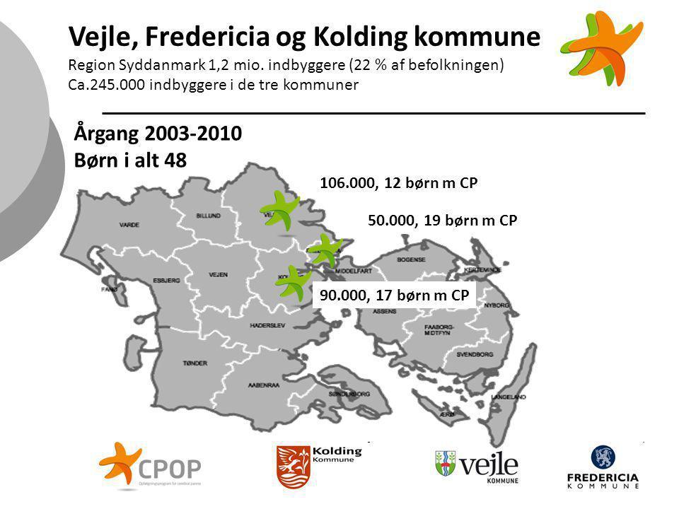 Vejle, Fredericia og Kolding kommune