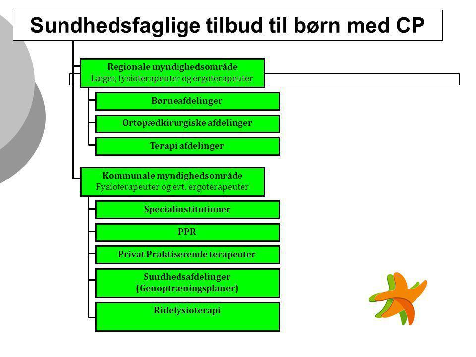 Sundhedsfaglige tilbud til børn med CP