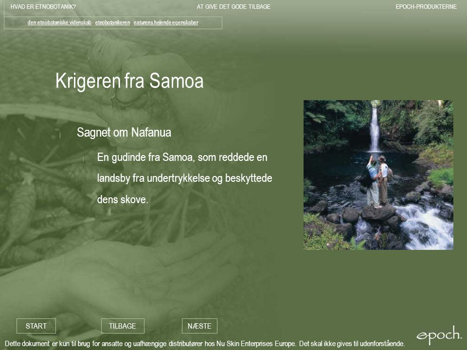 Krigeren fra Samoa Sagnet om Nafanua
