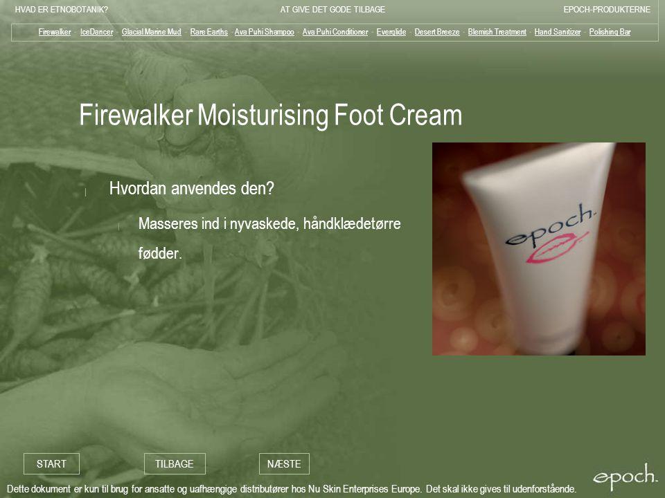 Firewalker Moisturising Foot Cream