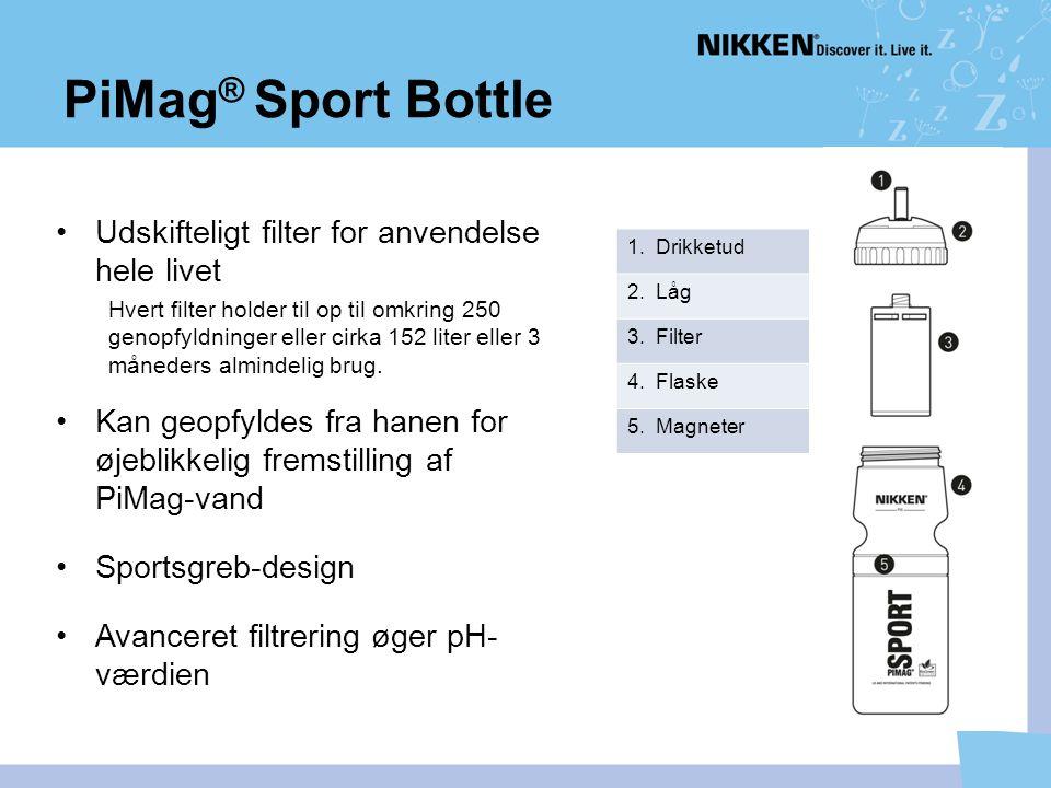 PiMag® Sport Bottle Udskifteligt filter for anvendelse hele livet