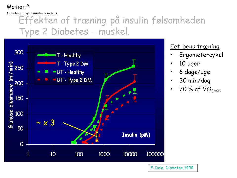 Effekten af træning på insulin følsomheden Type 2 Diabetes - muskel.