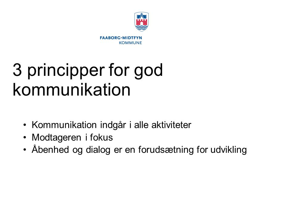 3 principper for god kommunikation