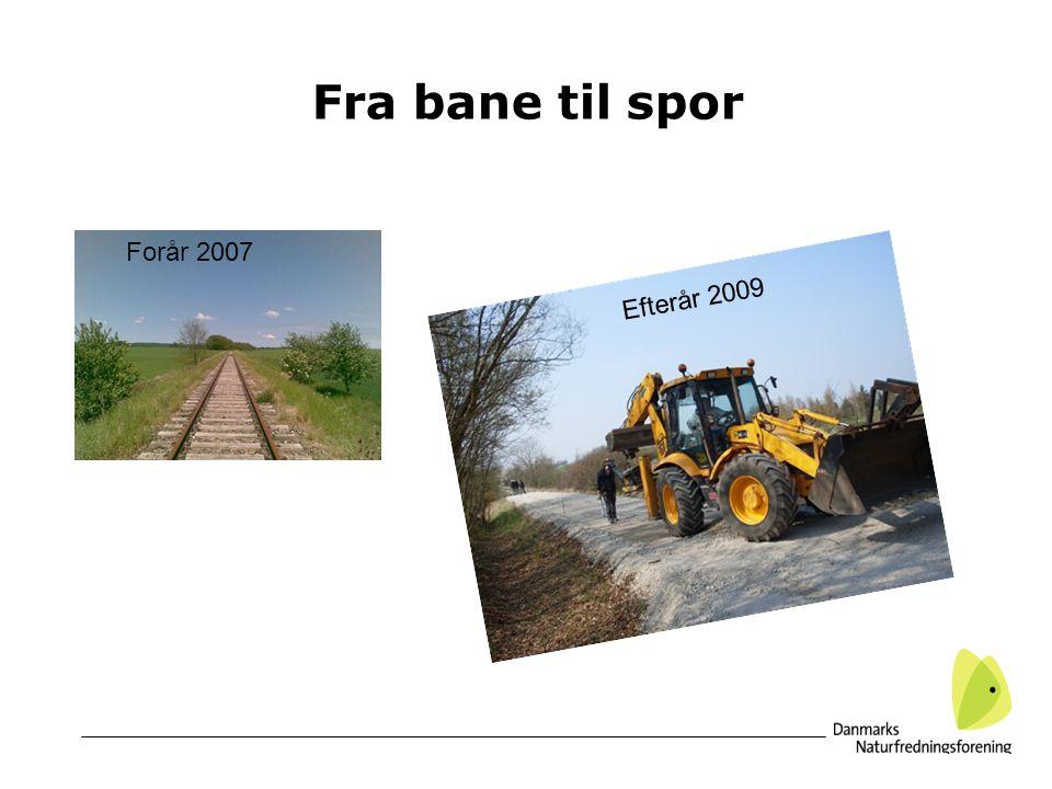 Fra bane til spor Forår 2007 Efterår 2009