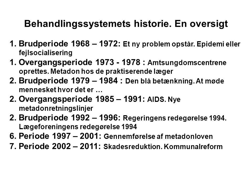 Behandlingssystemets historie. En oversigt