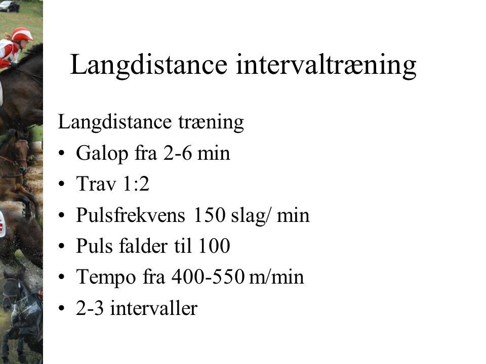 Langdistance intervaltræning
