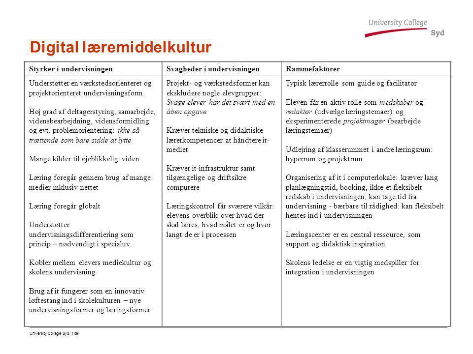 Digital læremiddelkultur