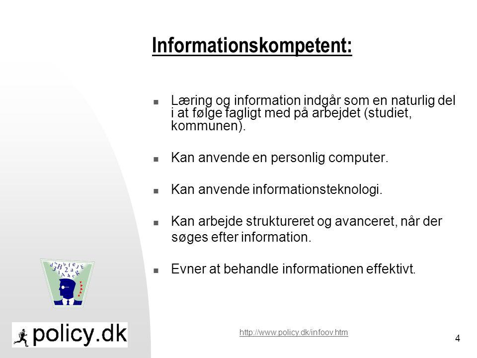 Informationskompetent: