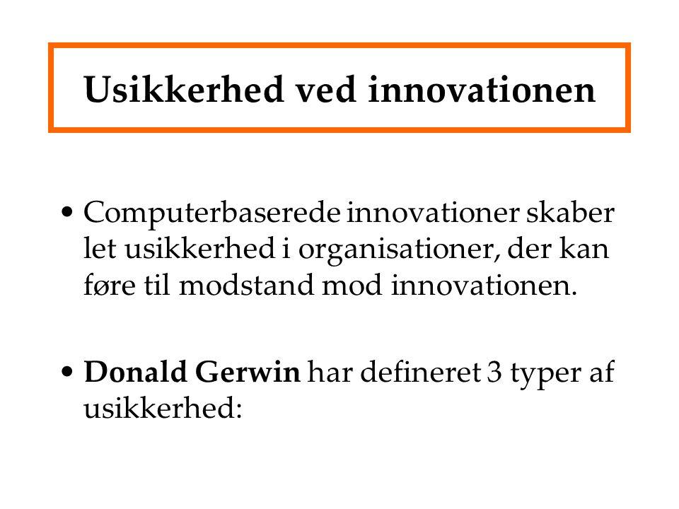 Usikkerhed ved innovationen