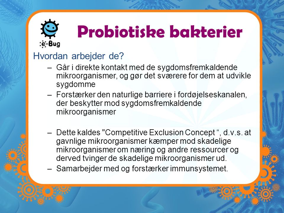 Probiotiske bakterier