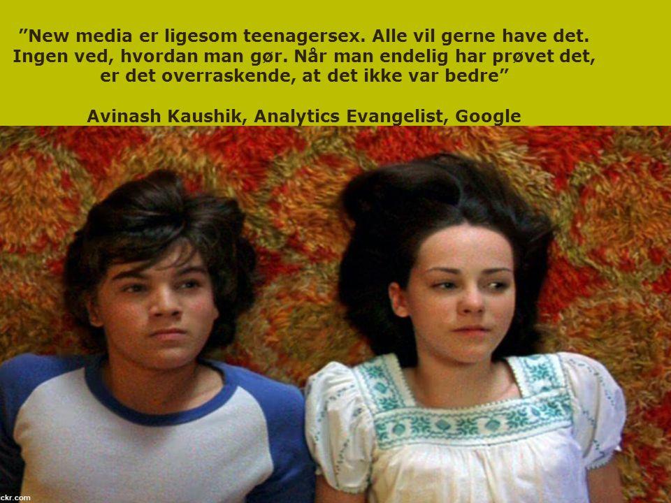 New media er ligesom teenagersex. Alle vil gerne have det