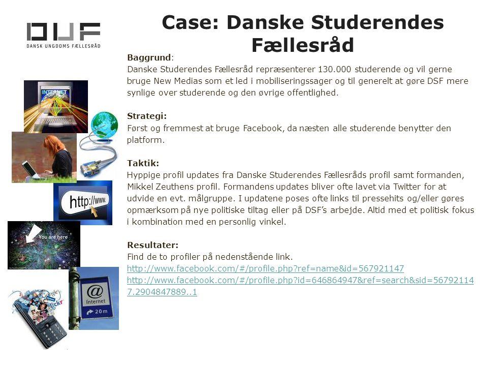 Case: Danske Studerendes Fællesråd