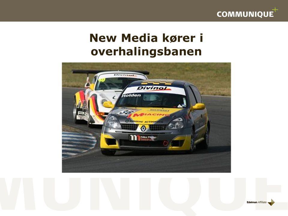 New Media kører i overhalingsbanen