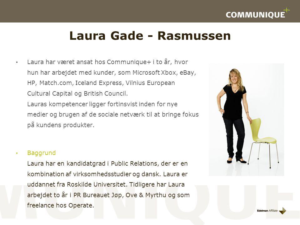 Laura Gade - Rasmussen