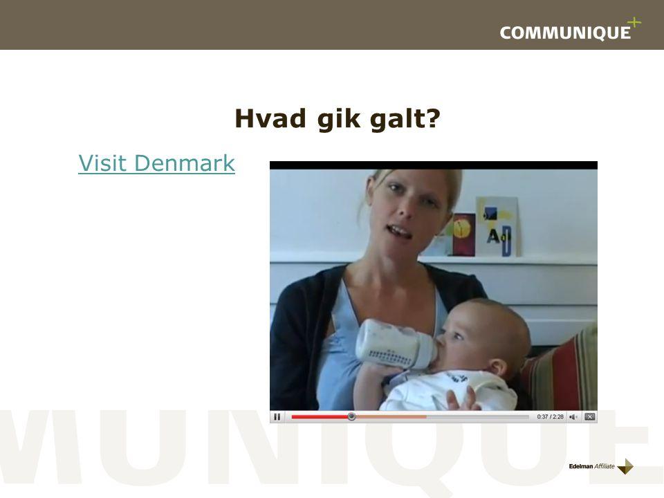 Hvad gik galt Visit Denmark
