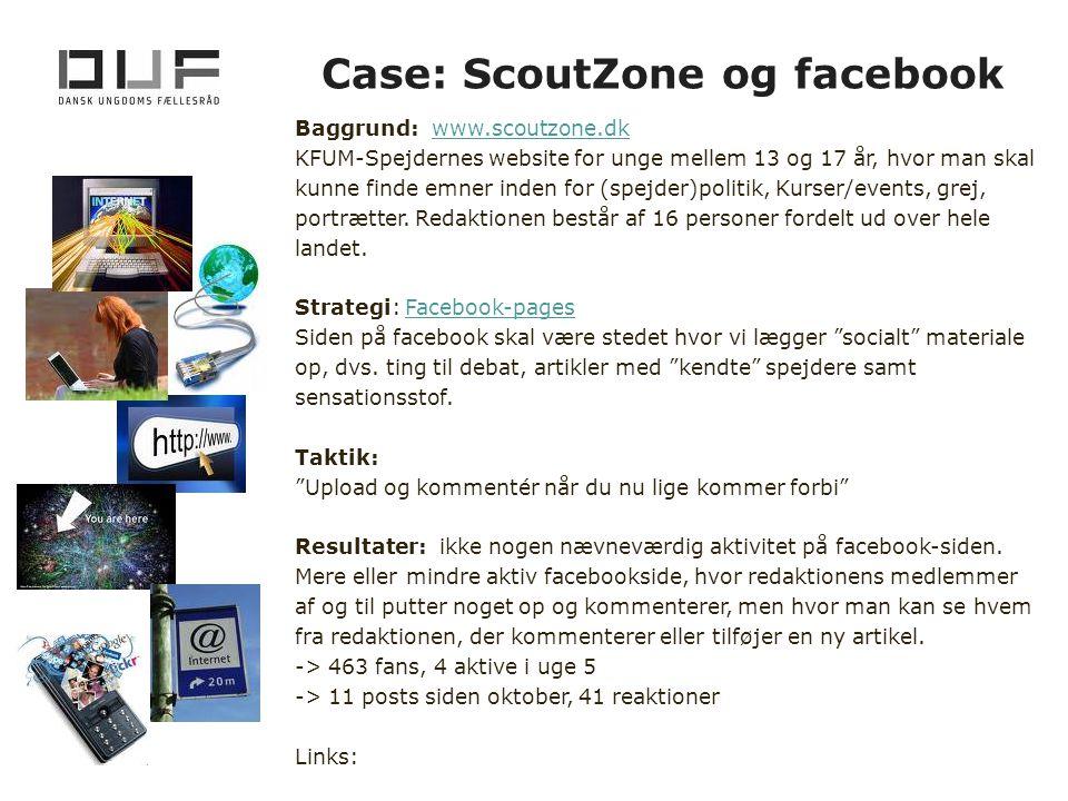 Case: ScoutZone og facebook