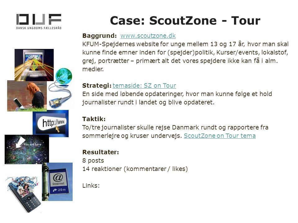 Case: ScoutZone - Tour