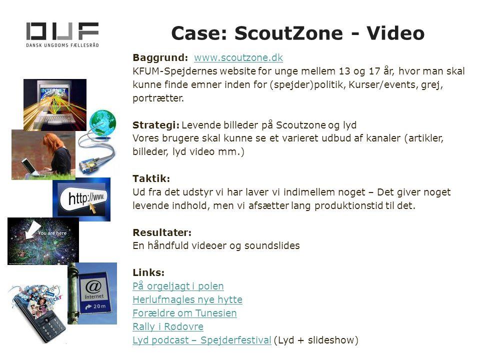 Case: ScoutZone - Video