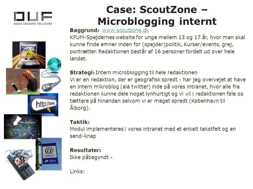 Case: ScoutZone – Microblogging internt