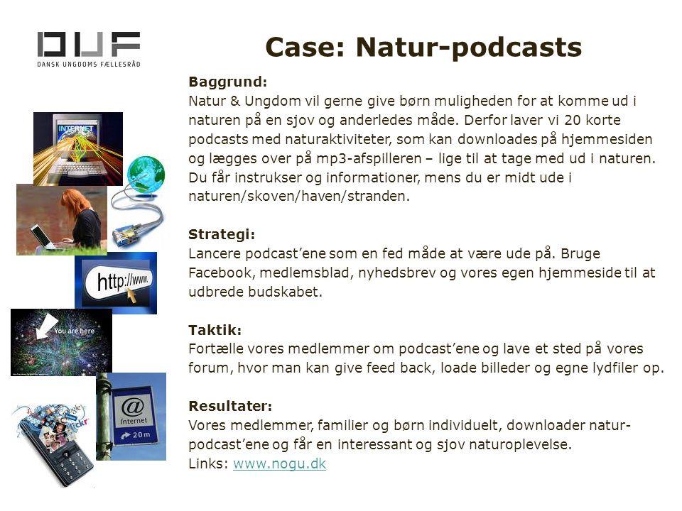 Case: Natur-podcasts