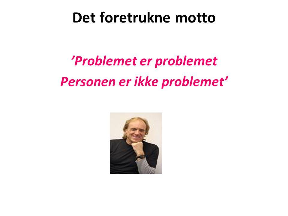 'Problemet er problemet