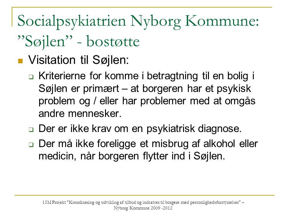 Socialpsykiatrien Nyborg Kommune: Søjlen - bostøtte