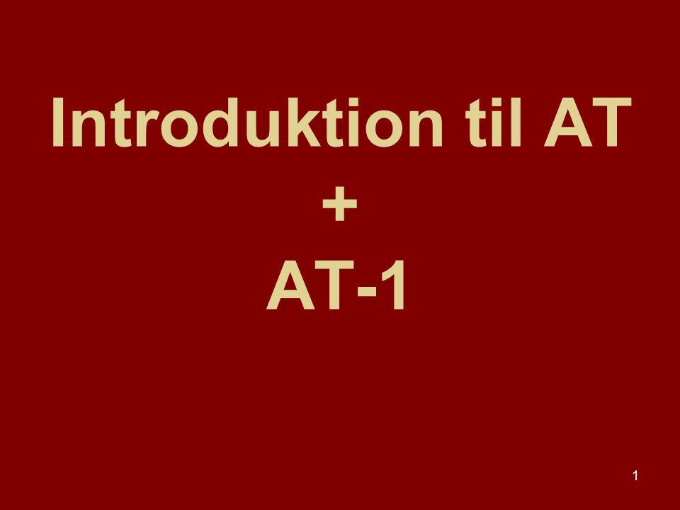 Introduktion til AT + AT-1