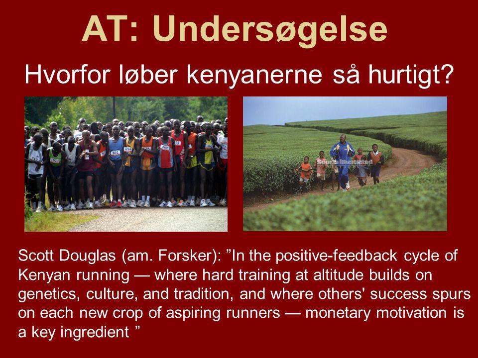Hvorfor løber kenyanerne så hurtigt