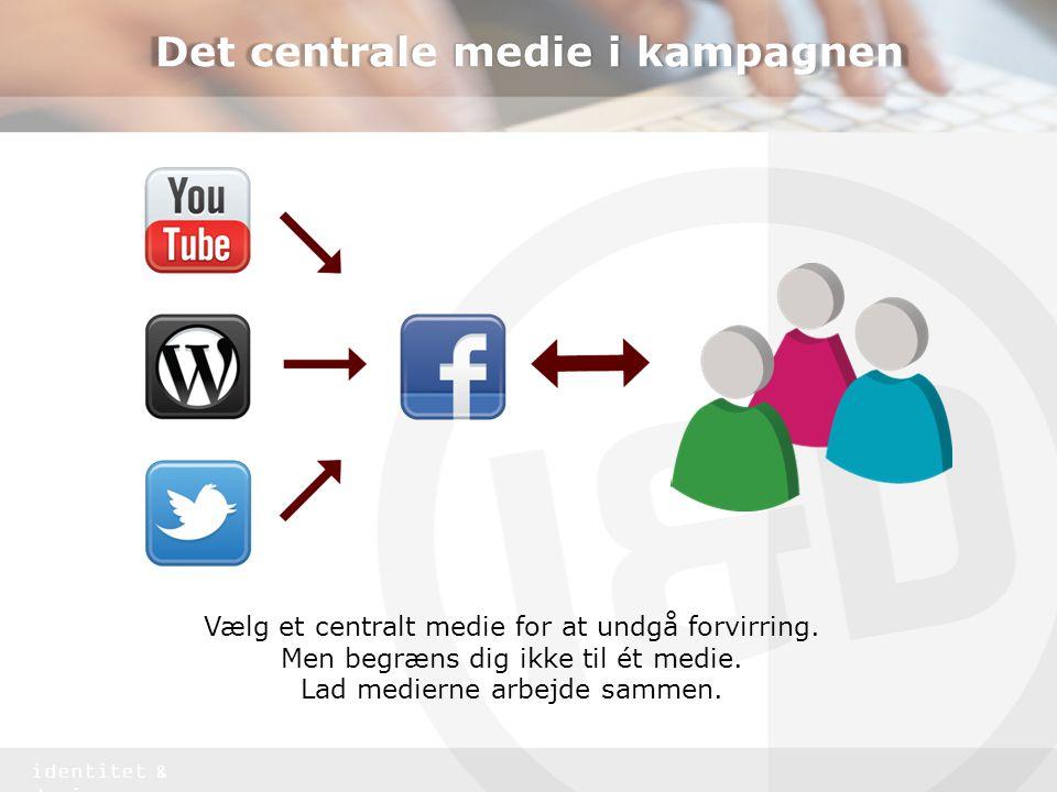 Det centrale medie i kampagnen