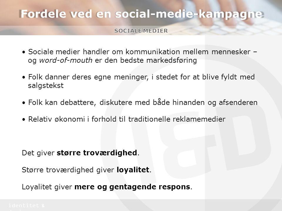 Fordele ved en social-medie-kampagne