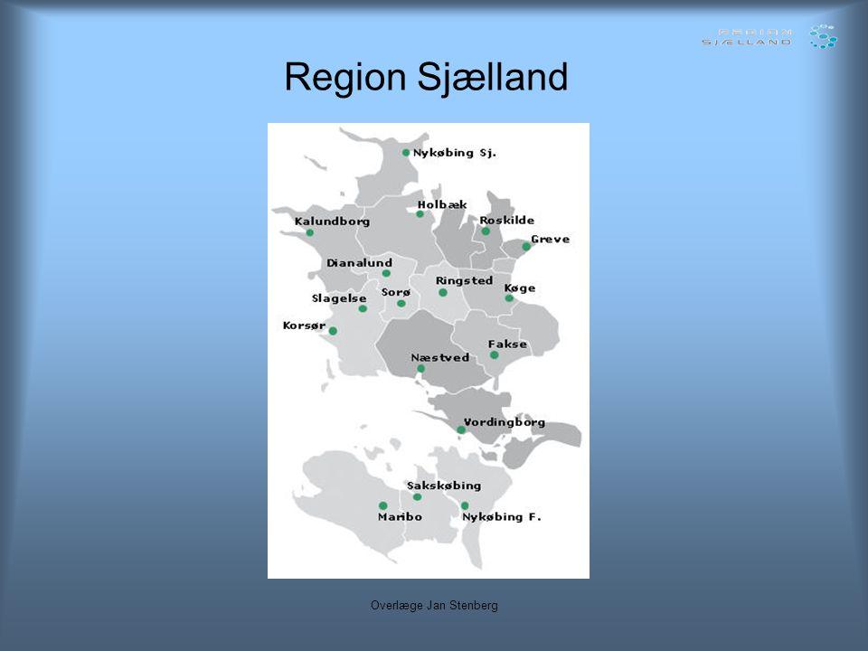Region Sjælland Overlæge Jan Stenberg