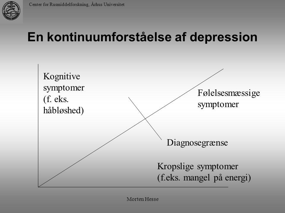 En kontinuumforståelse af depression